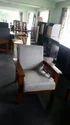 Wood Sofa Single