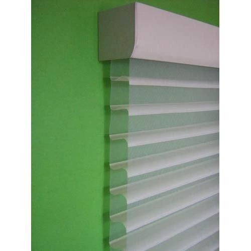 Shangri La PVC White Window Blinds
