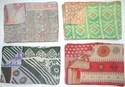 Reversible Bedding Kantha Quilts