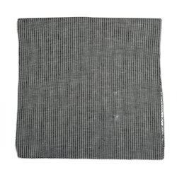 Grey Striped Fabric