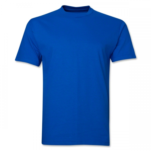 08bc0309 Blue Casual Plain T Shirt, Rs 100 /piece, Triarchy Exports | ID ...