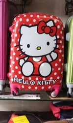 Hello Kitty brand Pink n red Suitcase