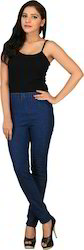 Navy Blue Denim Jegging