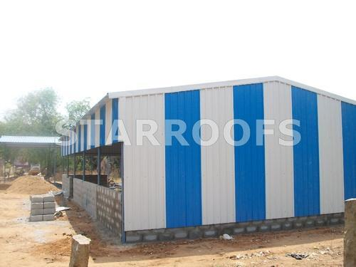 Delightful Marriage Hall Roofing Shed