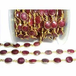 Red Jewellery Stone
