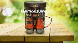 Mouse Over Image To Zoom Vintage Nautical Binocular