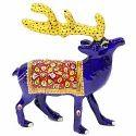Meenakari Work Reindeer MT053