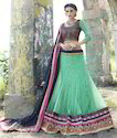 Multicolored Designer Bollywood Lehenga Choli