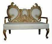 Modern White Sofa, for Wedding Hall
