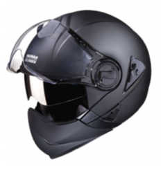 uFull Face Helmet Matt Black