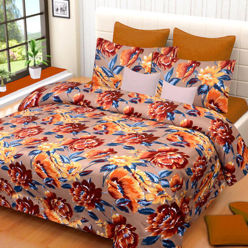 Superb E  Divine Glace Cotton Bed Sheet