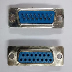 15- Pin- D Type- Female- Connector