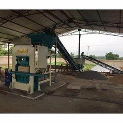 Aneco 2500H Automatic Fly Ash Brick Making Plant