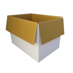 Corrugated HDPE Laminated Box