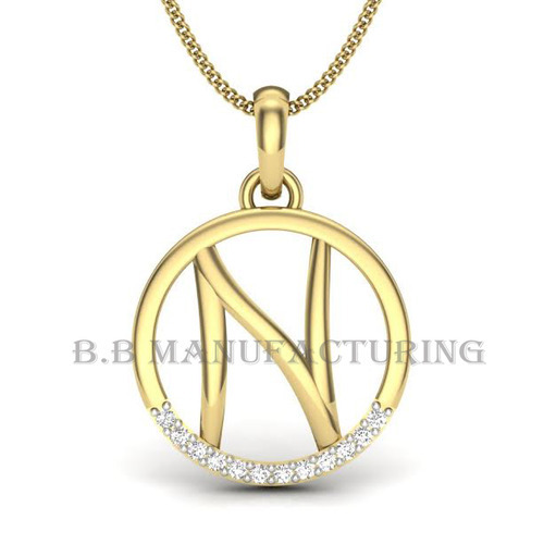 pendant vrai gold letterpendant rose solid oro letter products charm simple web
