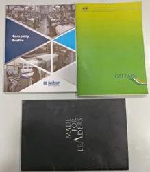 Manual Paper Digital Printing Brochure