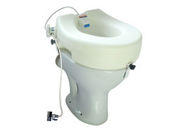 Raised Toilet Seat With Hygiene Cleaner 13cm