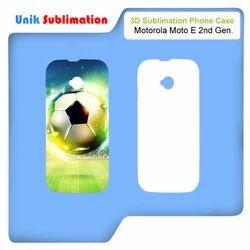 3D Sublimation Mobile Cover For Motorola Moto E 2nd Gen