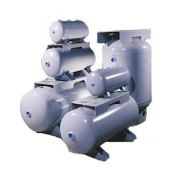 Horizontal Air Receiver Tanks