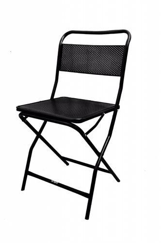 Genial Folding Iron Chair