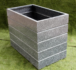 Cement Finish Planter (Rectangular)