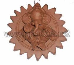 Clay Hanging Artistic Ganesha
