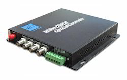4 Channel Digital Video Optical Transceiver