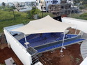 Modular Membrane Tensile Fabric Roofing System