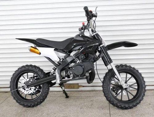 Black Dirt Petrol Bike