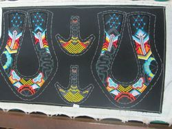 Embroidered Shoe Upper