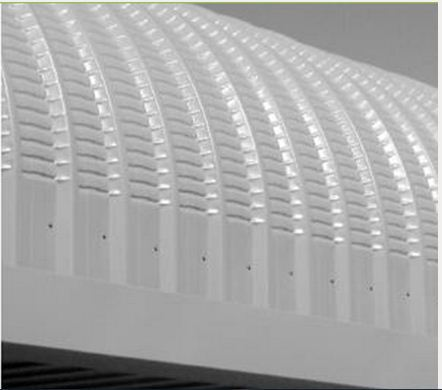 Hi Rib Crimp Curved Roofing And Cladding Mac Roof India