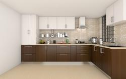 Modular Kitchen L Shaped Modular Kitchen Manufacturer From Chennai