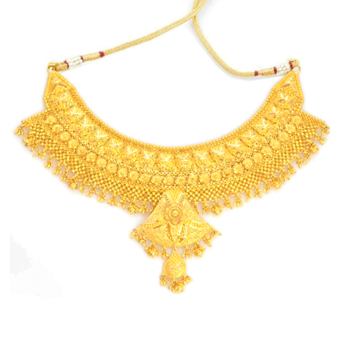 Retailer of Gold Necklace & Gold Rings by Bansal & Sons Delhi