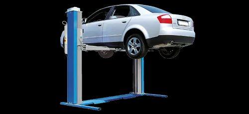 electro mechanical two post car lift hingule engineering