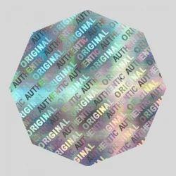 Hologram Printed Label
