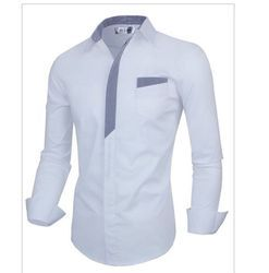 Men White Shirts - Manufacturers & Suppliers in India