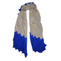 Cutwork Velvet Scarves