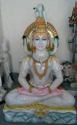 Marble Shankar Statue
