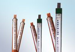 Copper Earthing Electrode with SRIP Compound