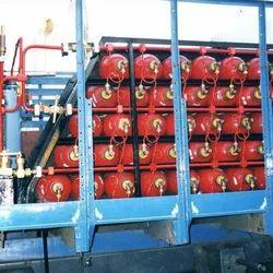 Hydrogen Cylinder Skid