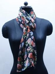 EGSC00017 Floral Cotton Printed Scarf
