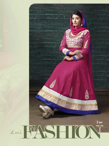 661fa7e254 Party Wear Readymade Cotton Anarkali Suits, Rs 948 /piece | ID ...