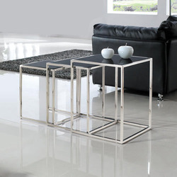 Gaur Steel Stainless Steel Office SS Stool, for Home, Size: 18 X18 Inch