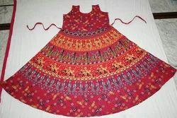 Jaipuri Cotton Maxi Dress