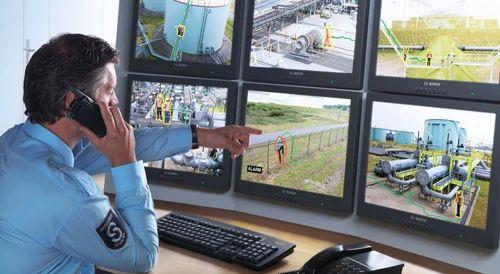 Plastic Security Guard Station Cctv Surveillance System