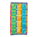 Beach Towels With Beach Icons
