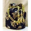 Designer Floral Potli Bag