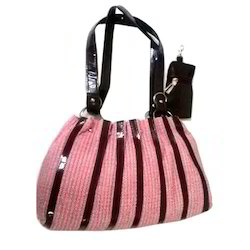 Pu Leather Plain Ladies Fashion Bag