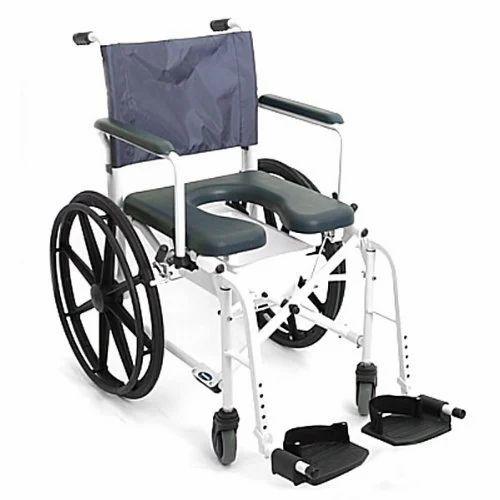 Laxmi's Wheeled Shower Commode Chair, Laxmi Industries   ID: 12930202248