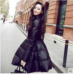 Wind Cheaters Black Ladies Woolen Jacket